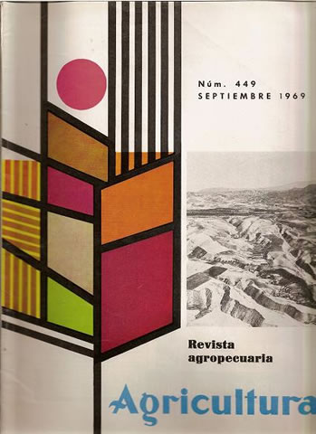 REVISTA AGRICULTURA  Nº 449 SEPTIEMBRE DE 1969