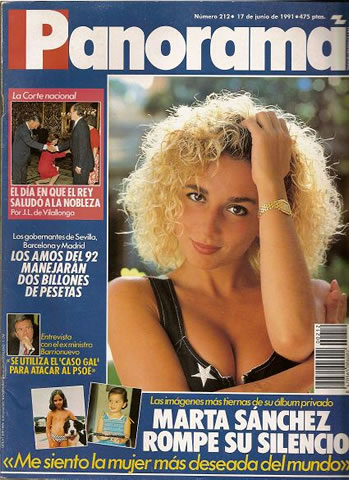 REVISTA PANORAMA  Nº 212. 17 de junio de 1991