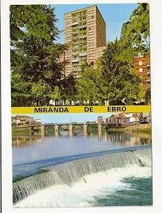 Miranda de ebro. Torre miranda puente y presa