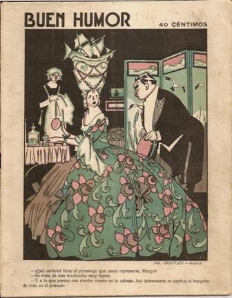 Buen Humor. Semanario satírico. 13 de diciembre de 1925