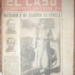 Semanario El Caso. Nº 398. 19 de diciembre de 1959.