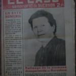 Semanario El Caso. Nº 402. 16 de enero de 1960.