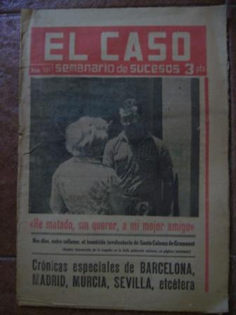 Semanario El Caso. Nº 581. 22 de junio de 1963.