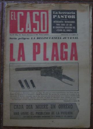Semanario El Caso. Nº 734. 28 de mayo de 1966.