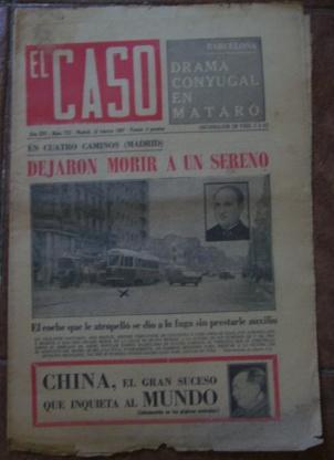 Semanario El Caso. Nº 772. 18 de febrero de 1967.