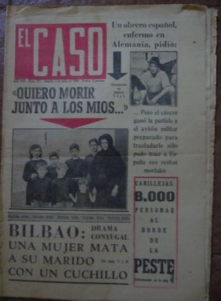 Semanario El Caso.Nº 635. 4 de julio de 1964.