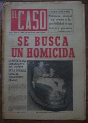 Semanario El Caso.Nº 727. 9 de abril de 1966.