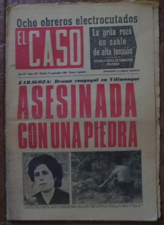 Semanario El Caso.Nº 750. 17 de septiembre de 1966.