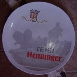 Plato Cerveza Henninger 32