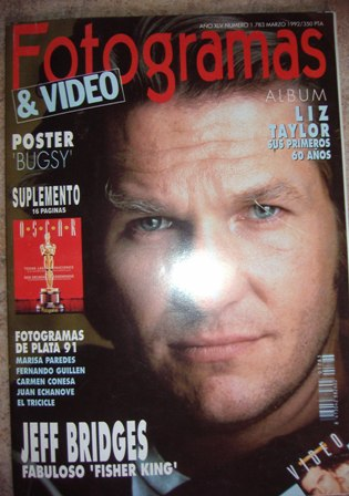 Fotogramas Nº 1.783 marzo 1992