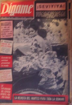 Dígame, ROTATIVO GRÁFICO SEMANAL. Núm. 1476, AÑO XXIX, Madrid,16 abril 1968