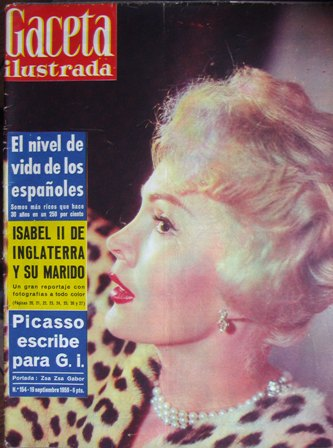 GAceta Ilustrada 19 de eptiembre de 1959