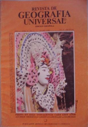 Revista de Geografía Universal. Edición Española. Año 4 Vol. 8 nº1. JULIO 1980