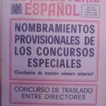 Revista EL MAGISTERIO ESPAÑOL,9 de mayo de 1970