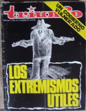 TRIUNFO, AÑO XXXI, NÚM. 733,12 de febrero de 1977