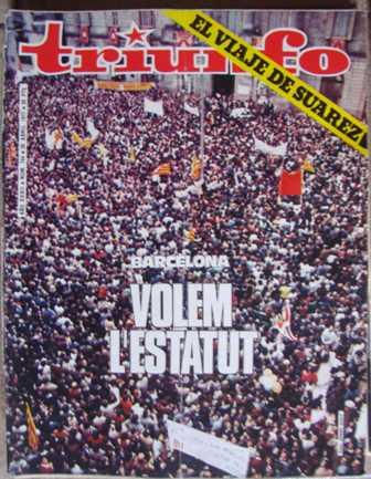 TRIUNFO, AÑO XXXII, NÚM. 744,30 de abril de 1977