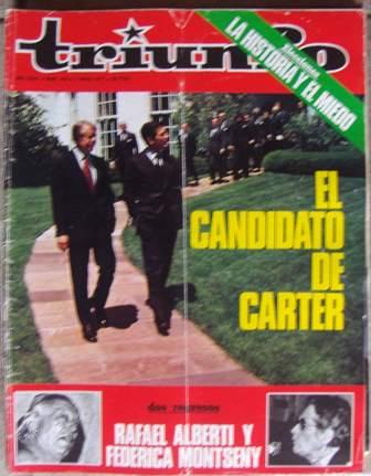 TRIUNFO, AÑO XXXII, NÚM. 745,7 de mayo de 1977