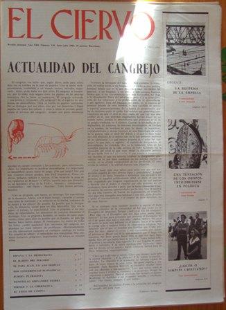 el ciervo junio juolio 1964