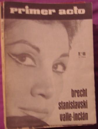 PRIMER ACTO, REVISTA DEL TEATRO nº 46, 1963