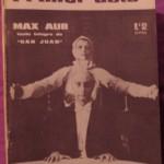 PRIMER ACTO, REVISTA DEL TEATRO nº 52, mayo 1964
