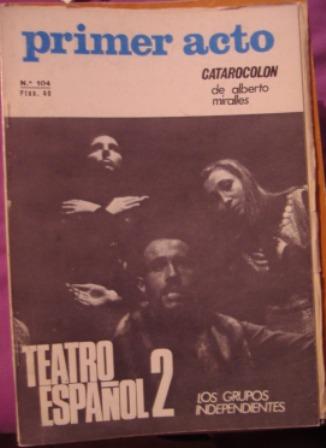 PRIMER ACTO, Revista mensual nº 104, enero 1969