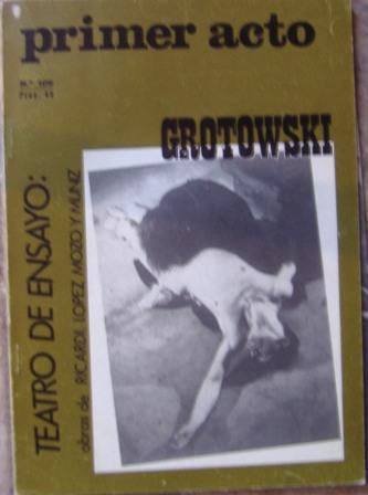 PRIMER ACTO, Revista mensual nº 106, marzo 1969