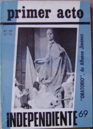 PRIMER ACTO , Revista mensual nº 109, junio 1969