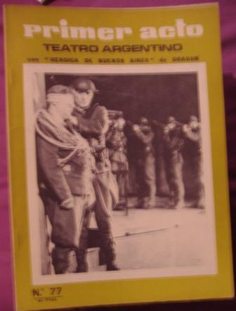 PRIMER ACTO, Revista mensual nº 77, 1966