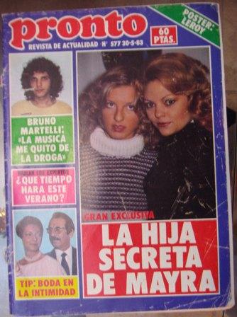 PRONTO Nº 577, AÑO XI, 30 de mayo de 1983