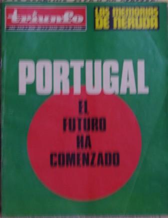 TRIUNFO, 5ª ÉPOCA, AÑO XXIX, NÚM. 605,4 de mayo de 1974
