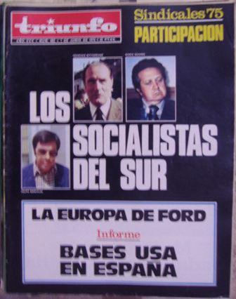 TRIUNFO, 5ª ÉPOCA, AÑO XXX, NÚM. 662,7 de junio de 1975