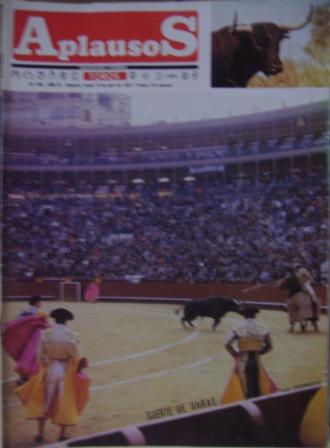 APLAUSOS Nº 498, AÑO XI, 13 de abril de 1987