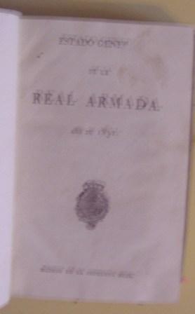 Estado General de la Armada, Año de 1831
