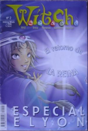 W.I.T.C.H. número 2, diciembre 2004