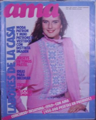 ama Nº 556, Febrero,  Primera Quincena, Año 1983