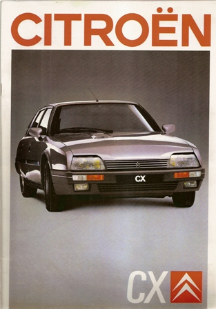 Folleto Citroen CX