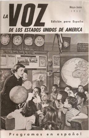 La  VOZ  de los Estados Unidos de América, Mayo – Junio  1952