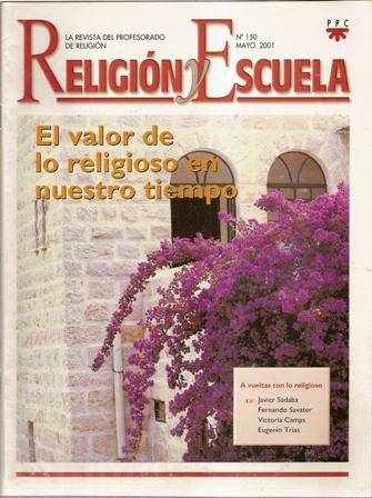 RELIGIÓN Y ESCUELA Nº 150, mayo 2001