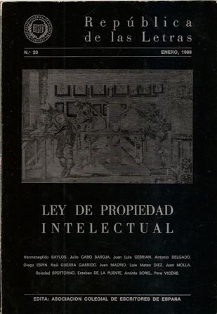 REPÚBLICA DE LAS LETRAS, ENERO 1988