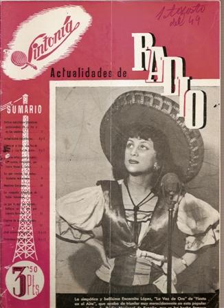 SINTONÍA AÑO III, NÚM. 53, 1 de agosto de 1949
