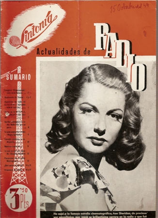 SINTONÍA AÑO III, NÚM. 58, 15 de octubre de 1949
