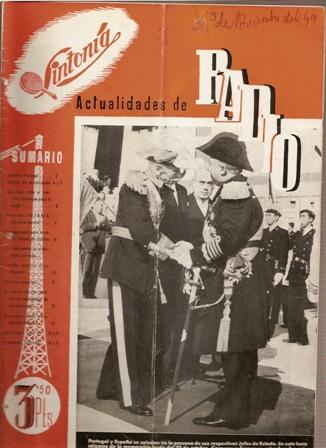 SINTONÍA AÑO III, NÚM. 59, 1 de noviembre de 1949