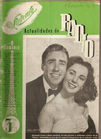 SINTONÍA AÑO III, NÚM. 61, 1 de diciembre de 1949