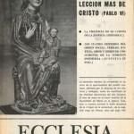 ECCLESIA Número 1641, 12 de Mayo de 1973, Año XXXIII