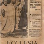 ECCLESIA Número 1722, 4 de Enero de 1975, Año XXXV