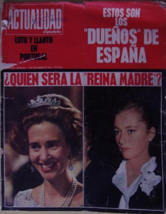 LA ACTUALIDAD Española AÑO XVI, NÚM.  831, 7 de diciembre de 1967
