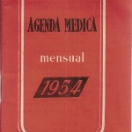 Agenda médica mensual, 1954 Febrero