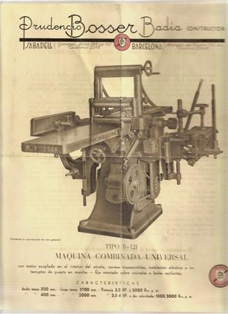Prudencio Bosser Badia, constructor