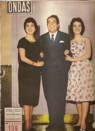 REVISTA  ONDAS, 15 de septiembre de 1958, Número 139