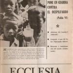 ECCLESIA Número 1635, 24 de Marzo de 1973, Año XXXIII